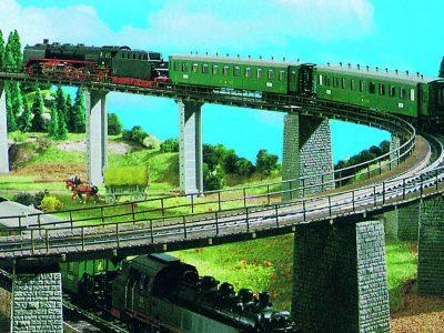 Trägerwippe für Brücken, 5 <br/>Vollmer 44006