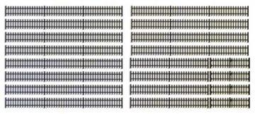 Eisenzaun schwarz, 190 cm <br/>Vollmer 45007 1