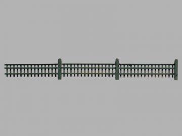 Gartenzaun, 190 cm <br/>Vollmer 45013 1