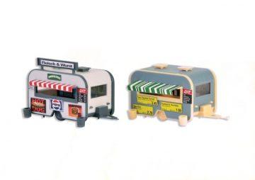 Verkaufswagen, 2 Stück <br/>Vollmer 45144 1