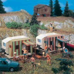 Campingwagen, 2 Stück Vollmer 45145