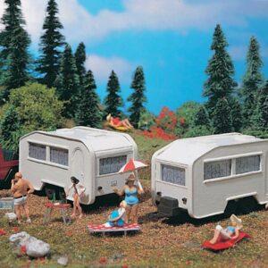 Wohnwagen, 2 Stück Vollmer 45147