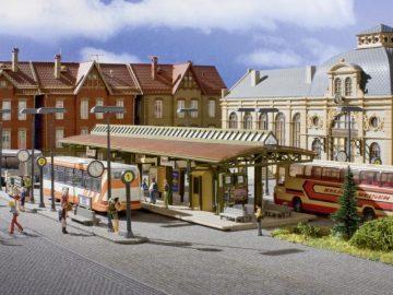 Busstation, überdacht <br/>Vollmer 45149 1
