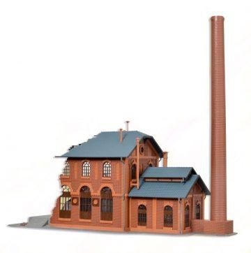 Fabrik, brennend, mit Flackerlicht <br/>Vollmer 45601 2