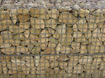 Mauerplatte Gabionen aus K <br/>Vollmer 46057 1