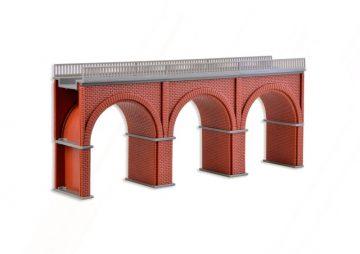 Brücke, Backstein-Viadukt, gerade <br/>Vollmer 47313 1