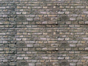 Mauerplatte Mauerstein, 10 <br/>Vollmer 47366 1