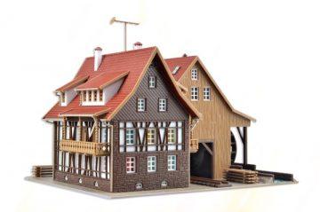 Tonbachmühle mit Mühlrad un <br/>Vollmer 47713 2