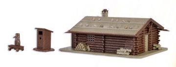 Jagdhütte mit Brunnen und H <br/>Vollmer 47743 1
