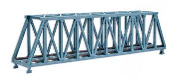 Brücke, Stahlbrücke, Kasten-Brücke, gerade <br/>Vollmer 47801 1