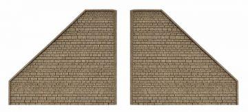 Stützwand, 2 Stück <br/>Vollmer 48101 1