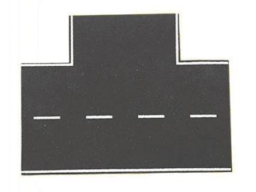 Straßenplatte Asphalt 90 G