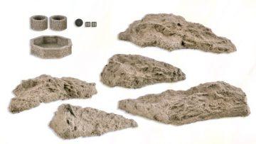 Steinkunst-Set Brunnen u