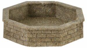 Brunnen, achteckig, 2 Stk. <br/>Vollmer 48761