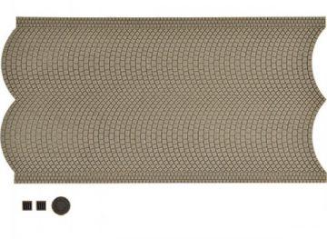 Straßenplatte Kopfst, mit Gu <br/>Vollmer 48841 1