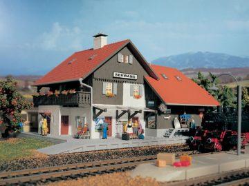 Bahnhof Berwang, Start und <br/>Vollmer 49050 1