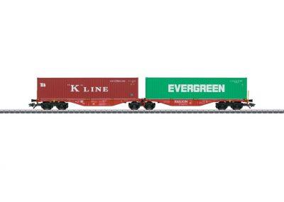 Doppel-Tragwagen DB Cargo <br/>Märklin 047800