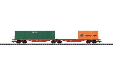 Doppel-Tragwagen Railion <br/>Märklin 047801 1
