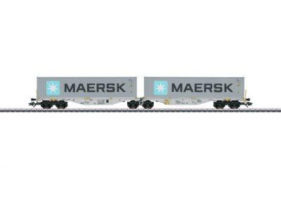 Doppel-Tragwagen D-BTSK <br/>Märklin 047803