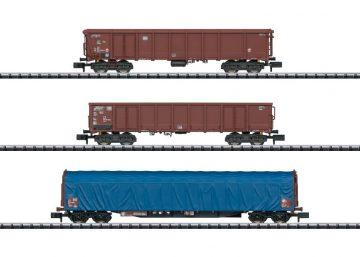 Wagen-Set Gütertransport Bund <br/>TRIX 15869 1