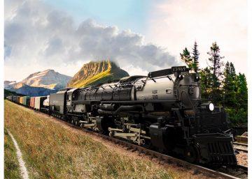Güterzug-Dampflok Challenger <br/>TRIX 22940 2