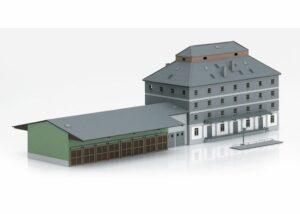 Bausatz Raiffeisen Lagerhaus mit Markt <br/>TRIX 66324