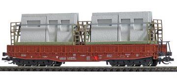 Flachwagen Samm 4818 DR <br/>BUSCH 31165 1