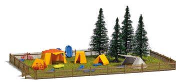 Campingplatz                  <br/>BUSCH 9776 1