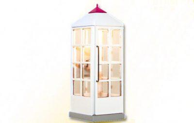 Telefonzelle Telek.geschl. <br/>Viessmann 1372