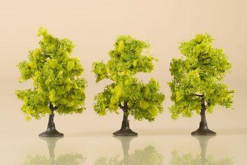Laubbäume hellgrün 7 cm <br/>Auhagen 70935 2