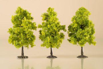Laubbäume hellgrün 11 cm <br/>Auhagen 70937 2