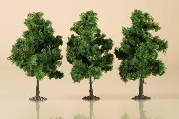 Laubbäume dunkelgrün 11 cm <br/>Auhagen 70938 2