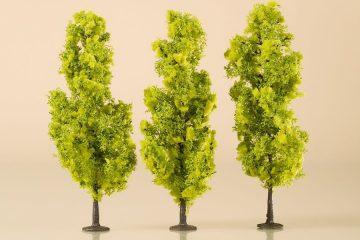 Laubbäume hellgrün 15 cm <br/>Auhagen 70939 2