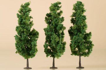 Laubbäume dunkelgrün 15 cm <br/>Auhagen 70940 2