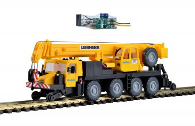 kibri 10558 <br/>Zweiwege-Mobilkran LTM mit