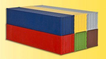 kibri 10922 <br/>40-Fuss-Container, 6 Stuec 4