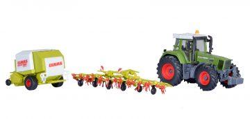 kibri 12233 <br/>Traktor Fendt mit Anbauger 3