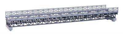 kibri 39707 <br/>Brücke, Fachwerk-Stahlbrücke ein
