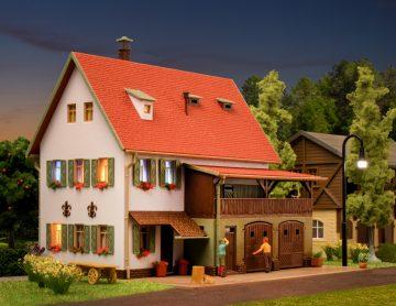 Vollmer 43721 <br/>Bauernhaus mit Scheune, Re 2