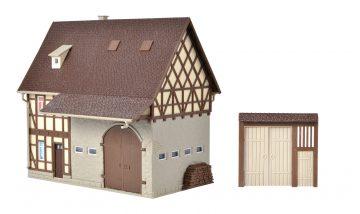 Vollmer 43731 <br/>Bauernhaus mit Scheune und 3