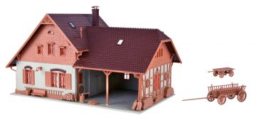 Vollmer 43744 <br/>Bauernhaus mit Remise 3