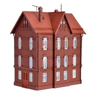 Vollmer 43806 <br/>Eisenbahner-Wohnhaus mit F 3