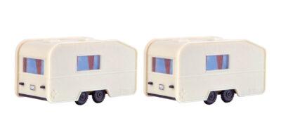 Vollmer 45147 <br/>Wohnwagen, 2 Stück