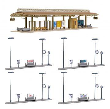 Vollmer 45149 <br/>Busstation, überdacht 2
