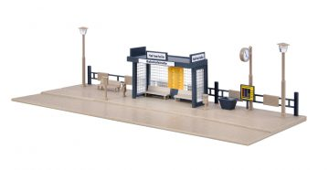 Vollmer 45154 <br/>Bushaltestelle, mit LED-Beleuchtung 3