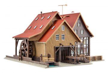 Vollmer 47713 <br/>Tonbachmühle mit Mühlrad un 3