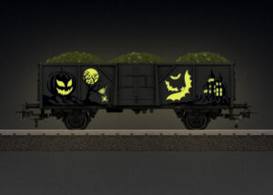 Märklin 44232 <br/>Märklin Start up - Halloween Wagen - Glow in the Dark