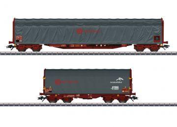 Märklin 47102 <br/>Schiebeplanenwagen-Set 1