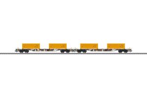 "Märklin 47130 <br/>Containertragwagen-Set ""Erdaushub Stuttgart 21"""