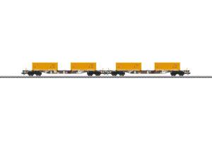 "Märklin 47131 <br/>Containertragwagen-Set ""Erdaushub Stuttgart 21"""